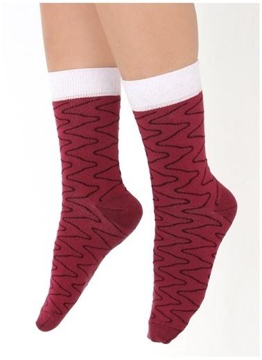 Socks+Stuff Socks&Stuff Tuna Nigiri Sushi Çorap Bordo